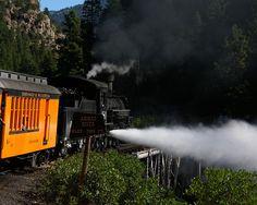 The Durango & Silverton Narrow Gauge Railroad by chrisnyc, via Flickr