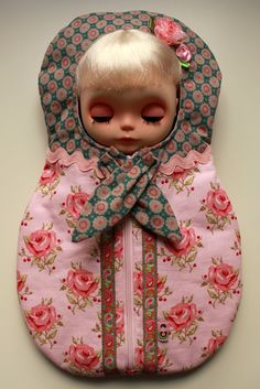 Brand New BJD satin doll carrier-storage bag