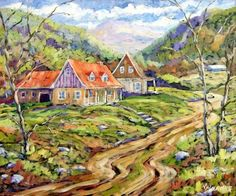 Artwork >> Richard T Pranke >> Saguenay Region View