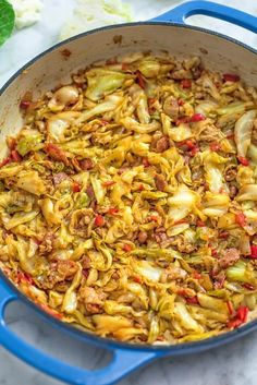 Love cabbage and want to serve it for family meals? Stopping by and satisfying your need with this article. It introduces top 30 dishes made with cabbage and promises to keep you pleased, too. Cabbage is finely chopped and cooked with a number of ing Fried Cabbage And Potatoes, Fried Cabbage With Sausage, Baked Cabbage, Cabbage Steaks, Cabbage And Sausage, Roasted Cabbage, Cabbage Rolls, Kohl Steaks, Salsa Picante