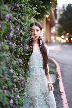 DEAR栗森女风原创百搭甜美复古vintage刺绣蕾丝夏透视上衣罩衫-淘宝网 mori girl