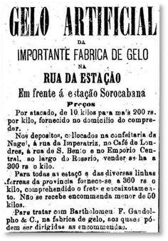 1879 - Gelo artificial.