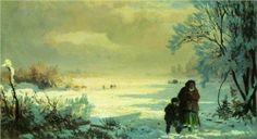 Winter - Fyodor Vasilyev