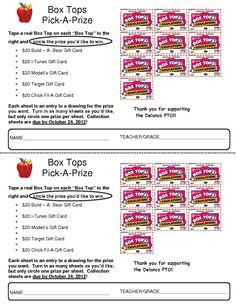 Box Top Pick AP rize Contest 091212