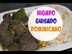 Higado guisado (estilo Dominicano)   Cocinando con Ros Emely - YouTube
