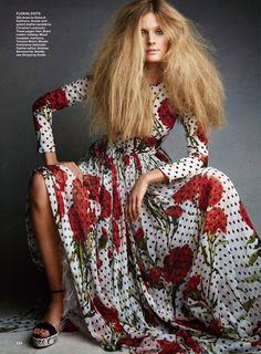 """Sweet Dreamers"" Constance Jablonski for Allure Magazine June 2015"