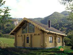Proiect Doralnic 17 Case din busteni - Cabane din lemn Case, Cabana, House Styles, Photography, Home Decor, Photograph, Decoration Home, Room Decor, Fotografie