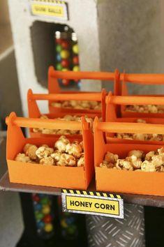 Lego Construction Party Planning Ideas Supplies Idea Decorations Boy