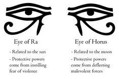 Simbolos Tattoo, Horus Tattoo, Tattoo Hals, Body Art Tattoos, Small Tattoos, Eye Of Ra Tattoo, Egyptian Mythology, Egyptian Symbols, Ancient Symbols