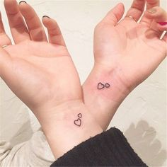 65 Epic Tattoo Designs For Women And Their Best Friends – Page 44 of 65 – Chic Hostess best friend tattoos; Mom Daughter Tattoos, Mother Tattoos, Tattoos For Daughters, Mom Tattoos, Couple Tattoos, Finger Tattoos, Small Matching Tattoos, Matching Best Friend Tattoos, Small Heart Tattoos