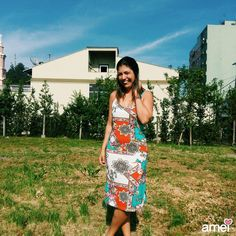 Dias de sol, dias de cor 🍃☀✨ #lojaamei #etiquetaamei #vestido #cores #midi #verao #lindo