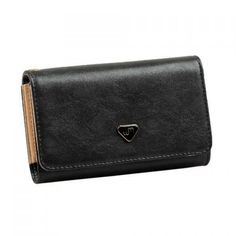 Classic Black Clutch Wallet