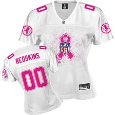 "C.) nflshop.com - ""Reebok Washington Redskins Women's 2011 Breast Cancer Awareness Fashion Jersey"" - Size: S I want this!!!"