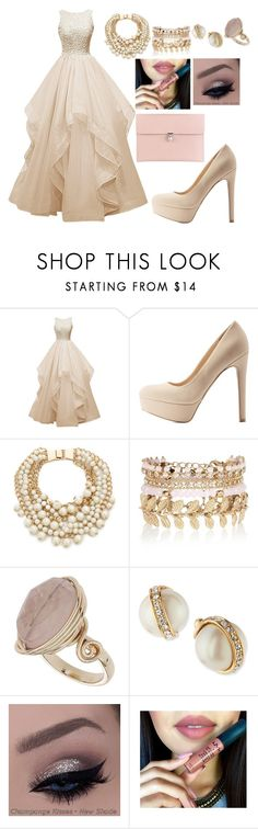 """""""Untitled #14"""" by jrmurillo ❤ liked on Polyvore featuring Qupid, Kate Spade, River Island, Topshop, Alexander McQueen, women's clothing, women, female, woman and misses"""