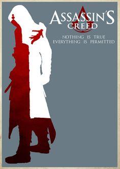 Assassin's Creed Minimalist Poster by MetalIslandArt.deviantart.com on @DeviantArt