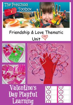 Valentine's Day Crafts and Activities for Preschoolers! | The Preschool Toolbox Blog