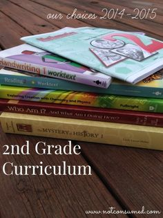 2nd grade homeschool curriculum ideas. After 3 kids, I think I have found some favorites!