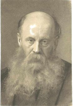 Portrait of a man with beard - Gustav Klimt