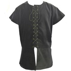Medieval/Renaissance Tabard Mens Waistcoat Top LARP/SCA. Sizes S -XXL ($70) ❤ liked on Polyvore featuring men's fashion