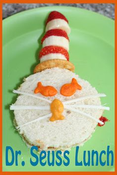 The Letter B Cat In The Hat Cookies