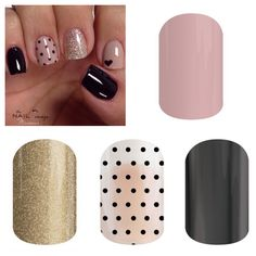 Get the look with Daydream, Gold Sparkle, Black Mini Polka and Tungsten...did someone say Buy 3, Get 1 Free???