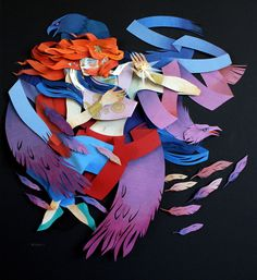 Бумажная фантазия Morgana Wallace - Ярмарка Мастеров - ручная работа, handmade