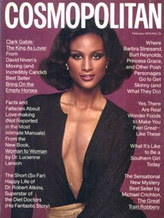 Beverly Johnson's first Cosmopolitan cover.  This one is for Angel