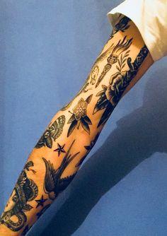 - List of the most beautiful tattoo models Tattoos 3d, Black Tattoos, Body Art Tattoos, Small Tattoos, Sleeve Tattoos, Tattoo Ink, Future Tattoos, Tattoos For Guys, Tatuagem Old Scholl