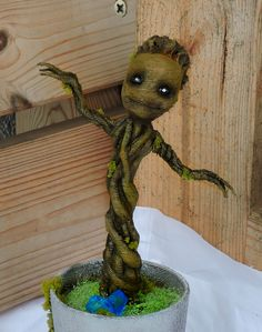 Guardians of the Galaxy, Dancing Baby Groot Version printed, coloured and finished. Dancing Baby, Baby Groot, Guardians Of The Galaxy, Plant Hanger, 3d Printing, Planter Pots, It Is Finished, Printed, Create