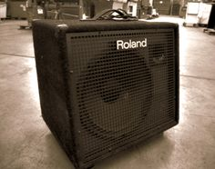 Making music? Check out this Roland Stereo Keyboard Amplifier on GovLiquidation.