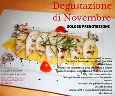 Menù d'autunno , lovely Fall dinner