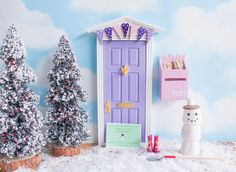 what to do with a Fairy door in winter