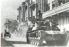 A Japanese tank on Orchard Road, Singapore 1942. My family were still in British India but moved to Singapore in 1947 and lived there until 1959 with me being born in 1956.