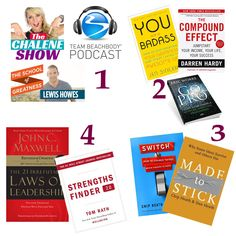 my favorite personal development books for beachbody coaching