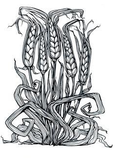 Wheat by Irina Vinnik