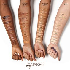 Shop Urban Decay's Stay Naked Weightless Foundation at Sephora. A vegan, medium-coverage foundation with a real-skin, matte finish that lasts up to 24 hours. Urban Decay, Waterproof Foundation, Liquid Foundation, Lightweight Foundation, Face Foundation, Natural Foundation, Foundation Colors, Sephora, Blushes