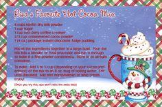 My favorite Hot Cocoa recipe