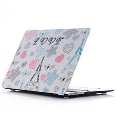 ถูกมากกกก  ซื้อเลยวันนี้ HRH Decals Water Transfer Stickers Fashion Photo Shell Ultra-thin Silk PC Case for Apple Macbook Pro Retina 13.3 Inch without logo (Love Tower) - Intl สั่งซื้อออนไลน์ ในราคาถูก