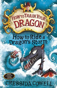 Cressida Cowell | How to Ride a Dragons Storm | The seventh
