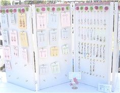 This earring display is awesome!