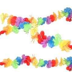 Guirnalda Hawaiana 3 metros para decorar tus fiestas http://www.airedefiesta.com/7694-guirnalda-hawaiana-3-metros.html