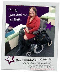 Hello on wheels! Shoe Shine at www.thecitizenrosebud.com