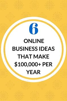 You don't need a list of 50 ways to start a business online. Here re 6 proven online business ideas that many people live off of and quit their jobs. Check them out here.