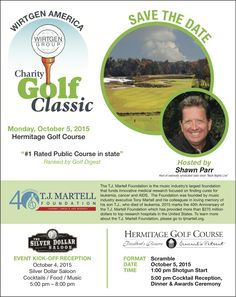 Please save the date of October 5th for our annual Wirtgen America #CharityGolf Classic in #Nashville hosted by Shawn Parr at the Hermitage Golf Course! #charity