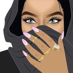 42 ideas pop art girl illustration beautiful for 2019 Art Black Love, Black Girl Art, Pop Art Girl, African American Art, African Art, Dope Kunst, Arte Dope, Trill Art, Black Girl Cartoon