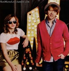 Ron and Mione