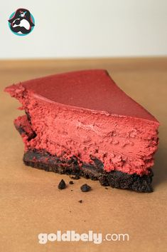 When we discovered this Red Velvet Cheesecake handmade in Florida, we swooned for days! Its crumbly chocolatey crust and smooth red velvet top makes for an awesome gift because come on - cheesecake AND red velvet? You can't go wrong with that :)