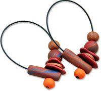 Els Van Haasen's polymer earring design