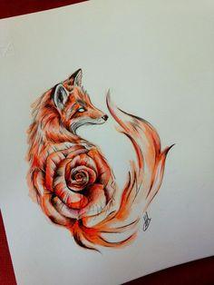 Stunning Fox Tattoos For Women and Men