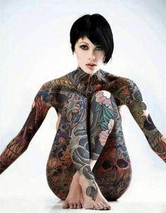 Tattoo Yakuza Style Woman